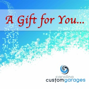 garage makeover gift certificate