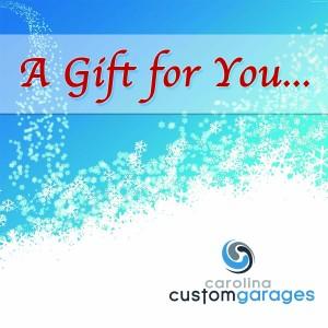 garage makeover gift certificate