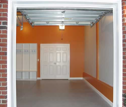 Harley Garage and Orange