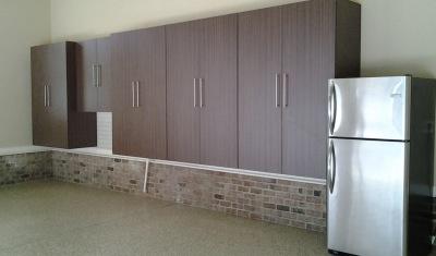 cocoa garage cabinet finish