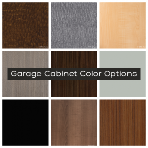 garage cabinet colors