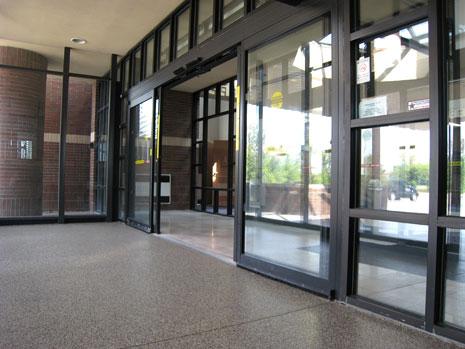 commercial flooring doors