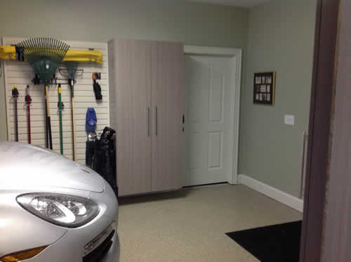 Garage makeover in Chapel Hill NC