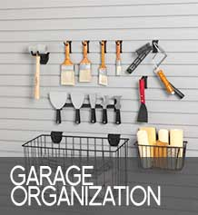 Garage Organization button