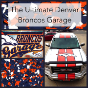 Ultimate Broncos garage