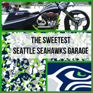 Sweetest Seahawk garage