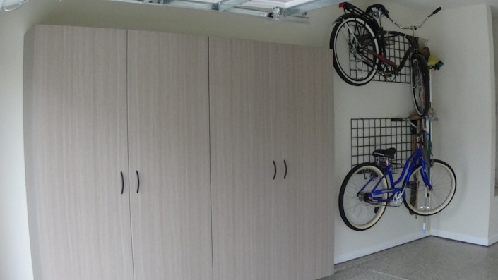 Durham Garage bicycle storage