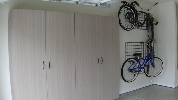 Durham Garage bicycle storage