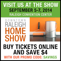 Raleigh Home Show Tickets