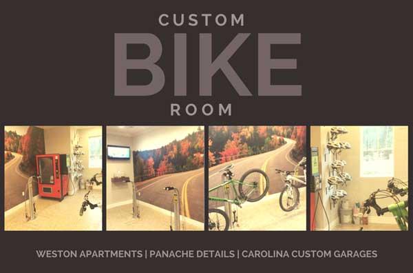 custom bike room image