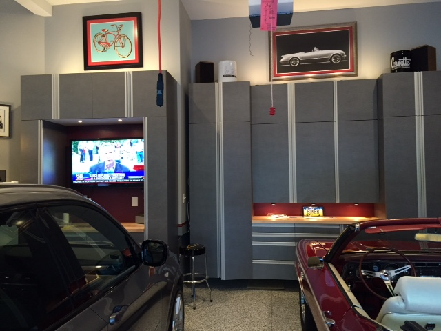 Genial Platinum Gray Garage Cabinets With